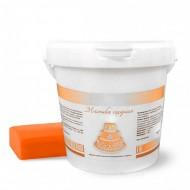 Сахарная мастика Dally 1 кг, оранжевая