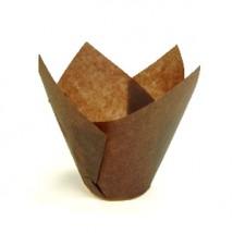 Капсула бумажная ТЮЛЬПАН коричневая