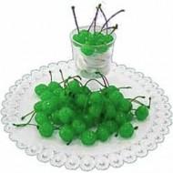 Черешня КОКТЕЙЛЬ с веточкой зеленая