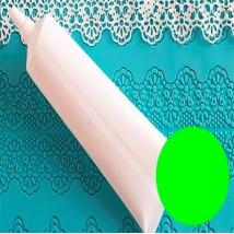 Кружево ванильное зеленое