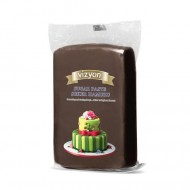 Сахарная мастика «Визьен» 0,5 кг коричневая