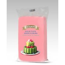 Сахарная мастика «Визьен» 0,5 кг розовая