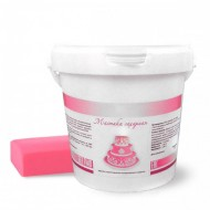 Сахарная мастика Dally 1 кг, розовая