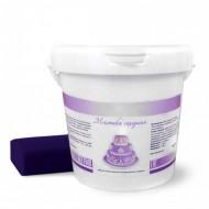 Сахарная мастика Dally 1 кг, фиолетовая