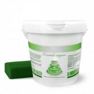 Сахарная мастика Dally 1 кг, зеленая