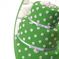 Мастика сахарная ванильная зеленая