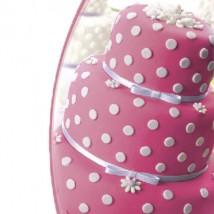 Мастика сахарная ванильная розовая