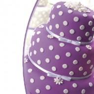 Мастика сахарная ванильная фиолетовая