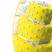 Мастика сахарная ванильная желтая