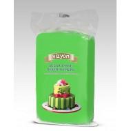 Сахарная мастика «Визьен» 0,5 кг зеленая