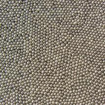 Шарики сахарные серебряные 2 мм