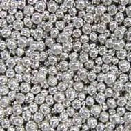 Шарики сахарные серебряные 5 мм