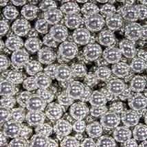 Шарики сахарные серебряные 7 мм