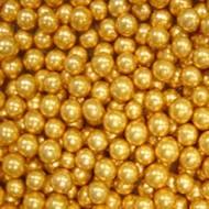 Шарики сахарные золотые 7 мм