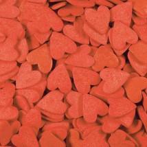 Фигурная посыпка Сердечки красные (большие)