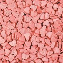 Фигурная посыпка Сердечки розовые