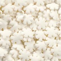 Фигурная посыпка Снежинки белые