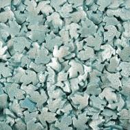 Голуби голубые перламутровые