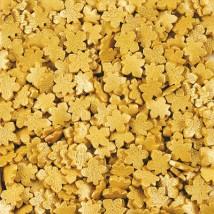 Кленовые листья золотые