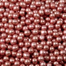 Шарики сахарные красные 5 мм.металл