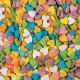 Сердечки разноцветные