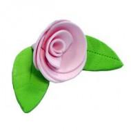 Украшение сахарное «Роза розовая»