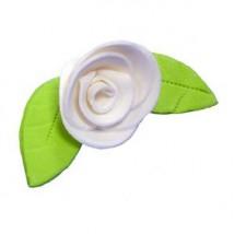 Украшение сахарное «Роза белая»
