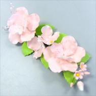Украшение сахарное «Букет розовый шиповник»