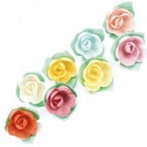 Розы на трилистнике (30мм)