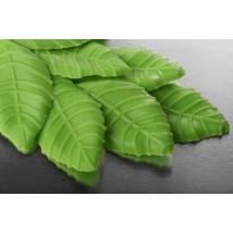 Украшение шоколадное Листик зеленый