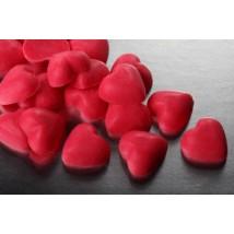 Украшение шоколадное Сердце красное